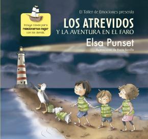 Portada de Los Atrevidos Y La Aventura En El Faro (el Taller De Emociones 3)