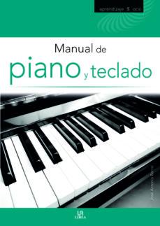 Portada de Manual De Piano Y Teclado