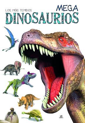Portada de Mega Dinosaurios: Los Mas Temidos
