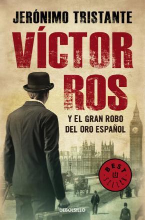 Portada de Victor Ros Y El Gran Robo Del Oro Español (victor Ros 5)