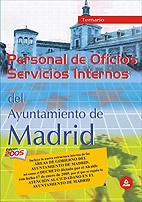 Portada de Personal De Oficios, Servicios Internos Del Ayuntamiento De Madri D: Temario