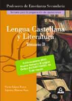 Portada de Lengua Castellana Y Literatura. Temario B