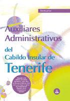 Portada de Auxiliares Administrativos, Cabildo De Tenerife. Temario (2ª Ed.)