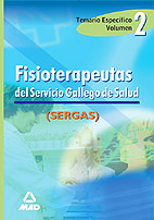 Portada de Fisioterapeutas Del Servicio Gallego De Salud: Temario Especifico . Vol. Ii