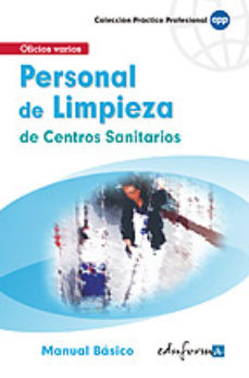 Portada de Personal De Limpieza De Centros Sanitarios: Manual Basico