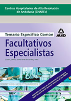 Portada de Facultativos Especialistas De Area De Los Centros Hospitalarios D E Alta Resolucion De Andalucia (chares)