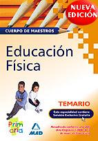 Portada de Temario Educacion Fisica Cuerpo De Maestros
