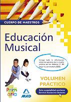 Portada de Educacion Musical: Cuerpo De Maestros (volumen Practico)
