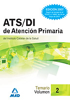 Portada de Ats/di Atencion Primaria Del Instituto Catalan De Salud (ics) Vol Umen Ii