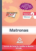 Portada de Temario Matronas Del Servicio De Salud De Castilla-la Mancha (sescam): Volumen Ii