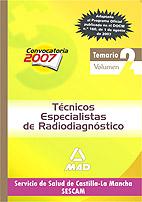 Portada de Tecnicos Especialistas De Radiodiagnostico Del Servicio De Salud De Castilla-la Mancha (sescam). Temario. Vol. Ii