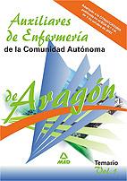 Portada de Auxiliares De Enfermeria De La Comunidad Autonoma De Aragon. Temario. Volumen I