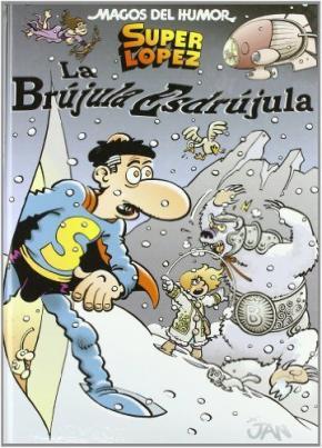 Portada de Magos Del Humor Nº 125: La Brujula Esdrujula
