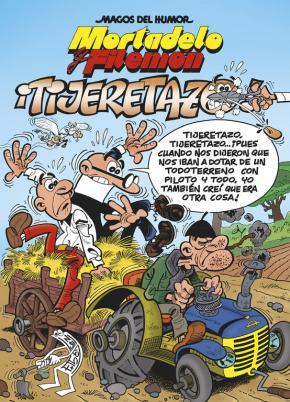Portada de Magos Del Humor Nº 164: ¡tijeretazo!