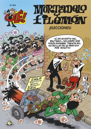 Portada de Ole Mortadelo Nº 203: ¡elecciones!