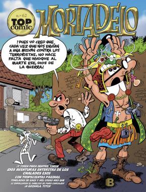 Portada de Top Comic Mortadelo Nº 62: Los Inventos Del Profesor Bacterio