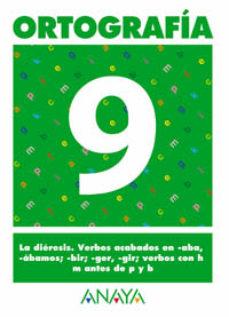 Portada de Ortografia 9 (primaria) (ed. 2004)