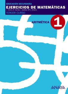 Portada de Ejercicion De Matematicas Cuaderno Aritmetica.1  (3º Eso)