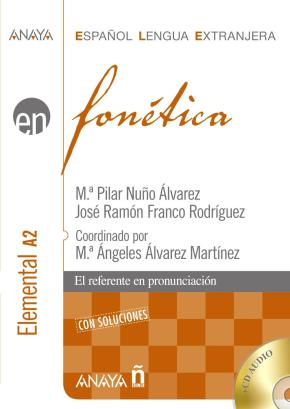 Portada de Fonetica: Nivel Elemental A2 (español Lengua Extranjera) (incluye Cd-rom)