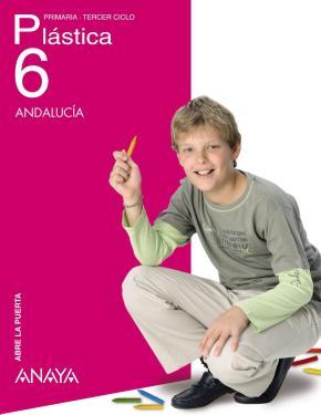 Portada de Plastica 6 (6º Primaria) Andalucia