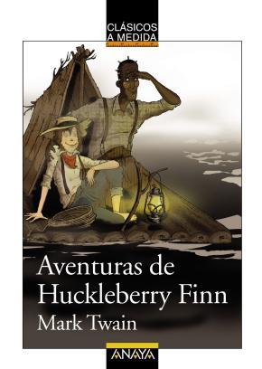 Portada de Aventuras De Huckleberry Finn