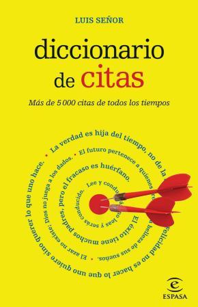 Portada de Diccionario De Citas