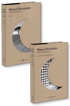 Portada de Obra Completa Miguel Hernandez (2 Vols.)