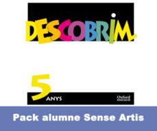 Portada de Infantil 5 Anys Descombrim Pk Alum Sense Artis
