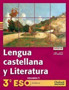 Portada de Adarve Lengua Trama 3ºeso   Ed 2011 Andalucia