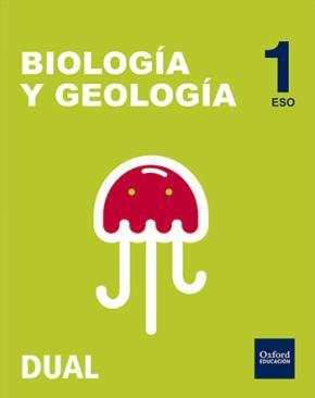 Portada de Inicia Biologia Y Geologia 1º Eso Libro Del Alumno Pack Nacar (madrid, Castilla-leon, Aragon, Galicia, Murcia)
