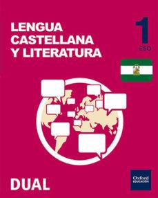 Portada de Inicia Dual Lengua B 1º Eso Libro Alumno Andalucia