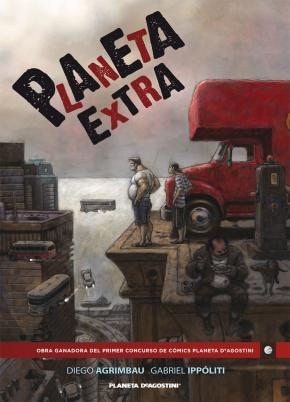 Portada de Planeta Extra (primer Premio Internacional De Comic Planeta Deago Stini)
