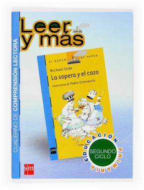 Portada de La Sopera Y El Cazo (cuaderno Comprension Lectora) (proyecto Leer Y Mas)