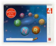 Portada de Lectoescritura La Galaxia De Las Letras 5 Años Nivel 4 Cuadricula Educacion Infantil