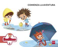 Portada de Comienza La Aventura Infantil 3 Años Unidad Didactica Castellano Mec