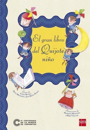 Portada de El Gran Libro Del Quijote Niño