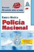 Portada de Escala Basica De Policia Nacional: Temario Abreviado Para Repaso.
