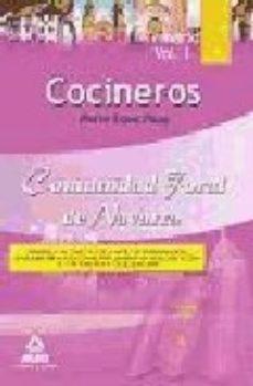 Portada de Cocineros De La Comunidad Foral De Navarra: Temario Parte Especif Ica (vol. I)