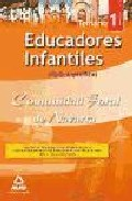 Portada de Educadores Infantiles De La Comunidad Foral De Navarra. Temario P Arte Especifica. Volumen I