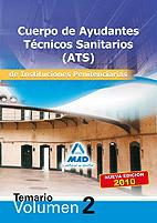 Portada de Cuerpo De Ayudantes Tecnicos Sanitarios De Instituciones Penitenc Iarias. Temario. Volumen Ii.