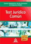 Portada de Centros Hospitalarios De Alta Resolucion De Andalucia (chares). Test Juridico Comun