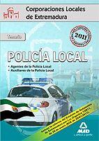 Portada de Policia Local De Extremadura. Temario.
