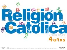 Portada de Religion Catolica 4 Años.