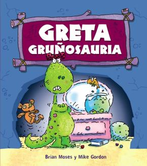 Portada de Greta Gruñosauria