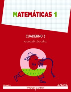 Portada de Matematicas 1. Cuaderno 3.