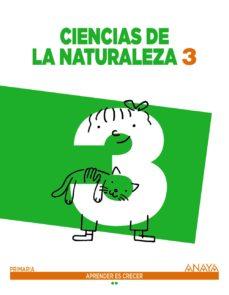 Portada de Ciencias De La Naturaleza 3.