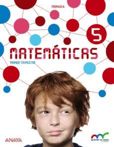 Portada de Matematicas 5º Educacion Primaria   (con Resolucion De Problemas 5). Andalucia