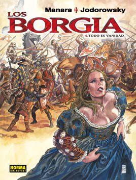 Portada de Los Borgia Vol. 4 (de 4): Todo Es Vanidad