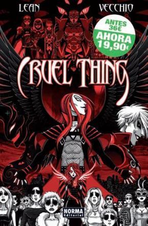 Portada de Cofre Cruel Thing (3 Vols.)