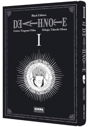 Portada de Death Note Black Edition 1 (De 6)